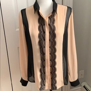 Ivanka Trump Button Down Blouse